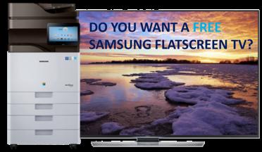 Win a Samsung Flat-screen TV